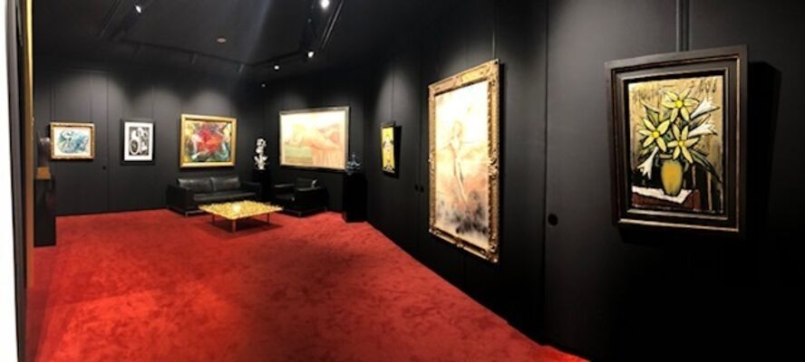 Brilliant Hues: The Power of Red and Gold, installation view