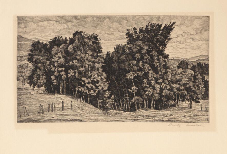 Luigi Lucioni, 'Birch Group', 1944