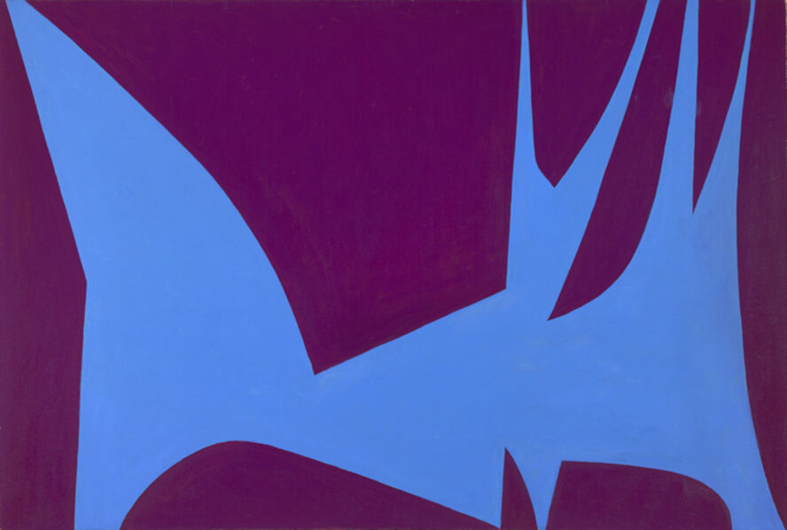 Lorser Feitelson, 'Magical Space Forms', 1951