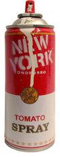 Spray Can: New York (White)
