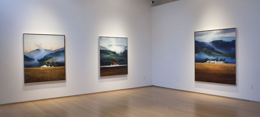 Michael Gregory: Here and There, Far and Wide, installation view