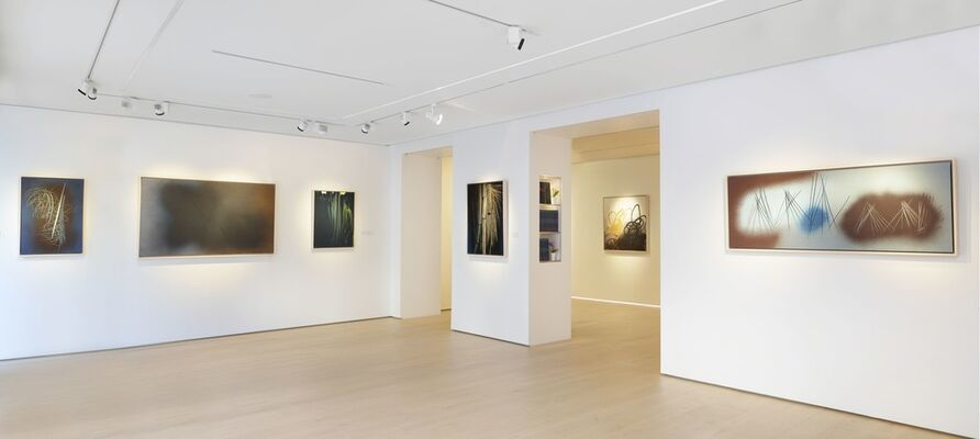 Hans Hartung, Rigueur & Fulgurance, installation view