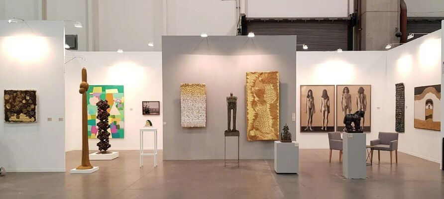 Galería La Cometa at ZⓈONAMACO 2019, installation view