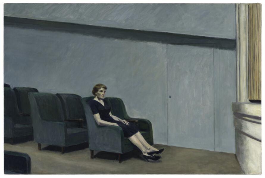 Edward Hopper, 'Intermission', 1963