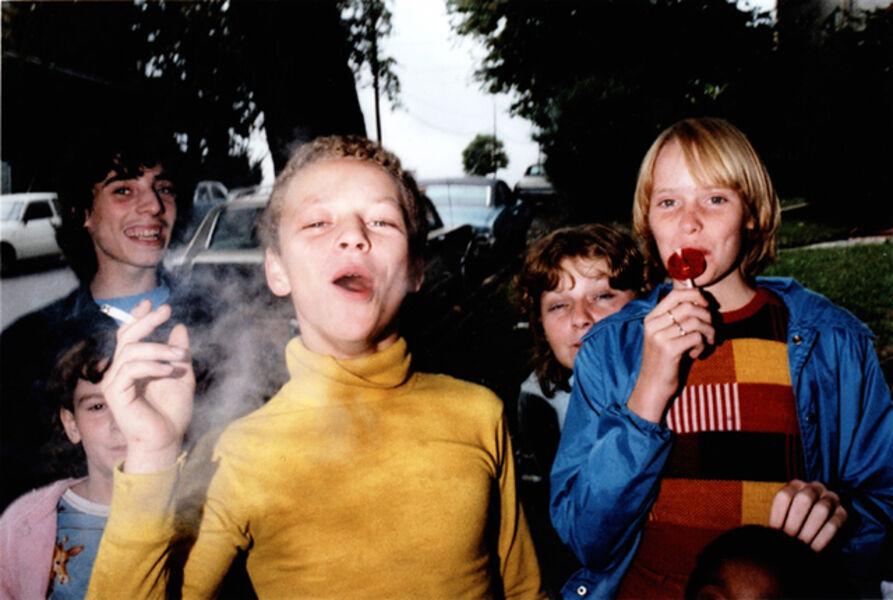 Mark Cohen, 'Boy in Yellow Shirt Smoking, Scranton, PA', 1977