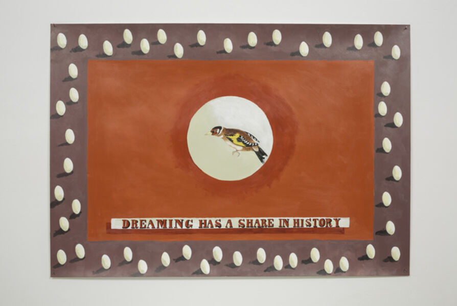 Lubaina Himid, 'Dreaming Has A Share in History', 2016