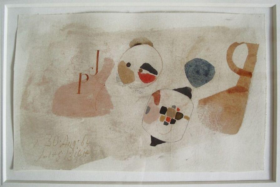 """Julius Bissier, '""""A. 30. Aug. 64""""', 1964"""