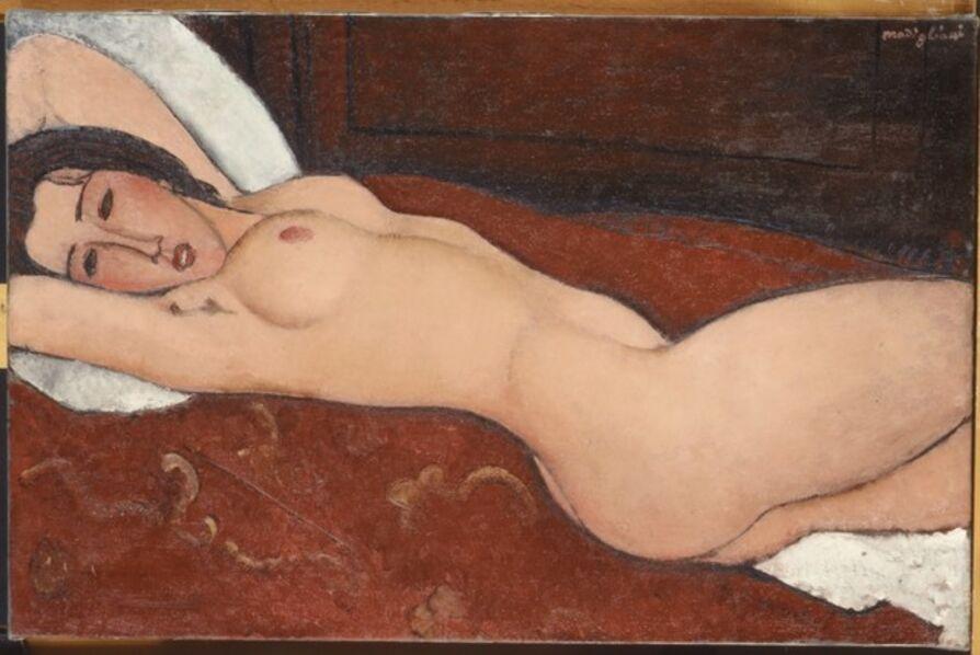 Amedeo Modigliani, 'Reclining Nude', 1917