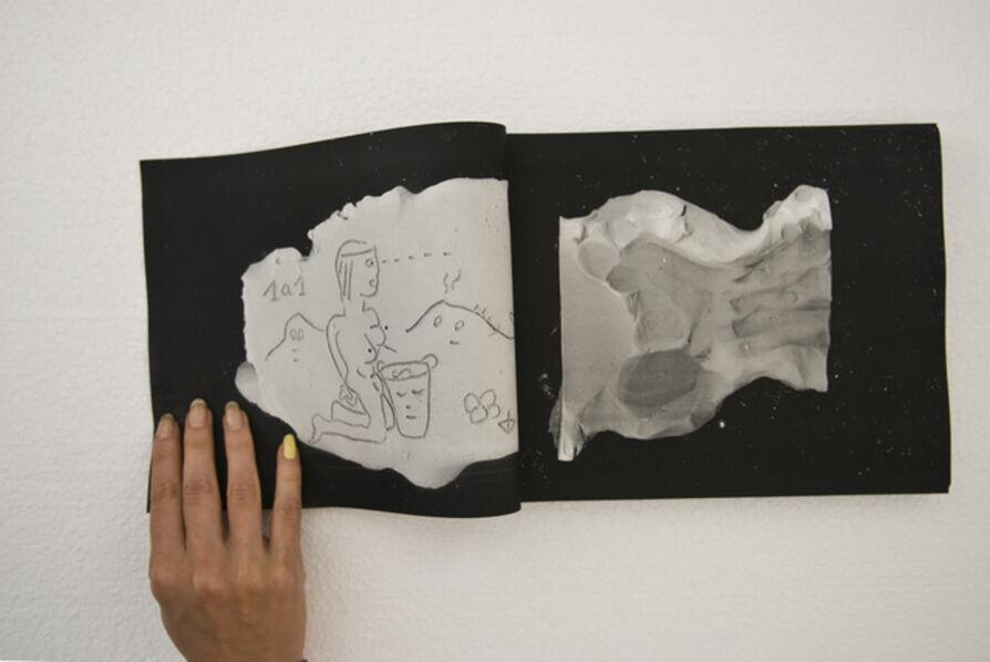 Ada Van Hoorebeke, 'Gedankengang (am Laufenden Meter)', 2014