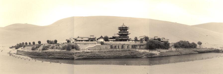 Lynn Davis, 'Crescent Moon Spring, Dunhuang, China', 2001