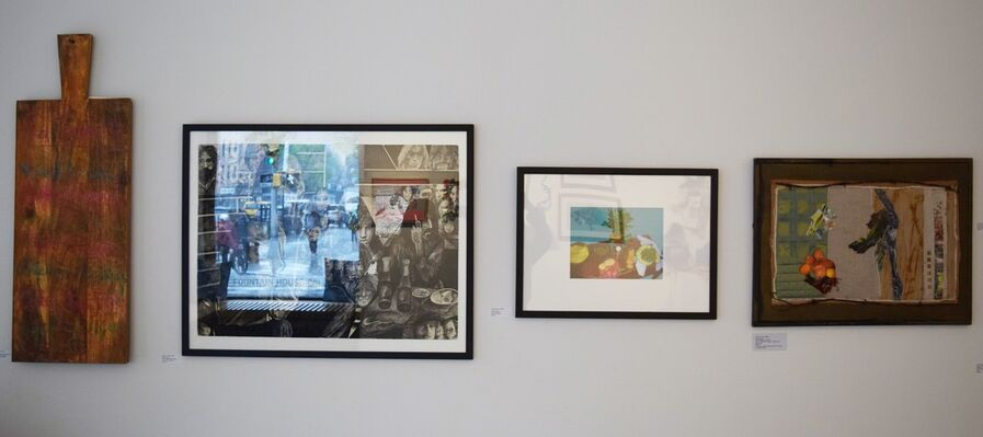 At the Table, installation view