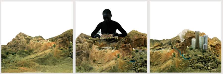 Otobong Nkanga, 'Alterscape stories : Uprooting the past', 2006-2012