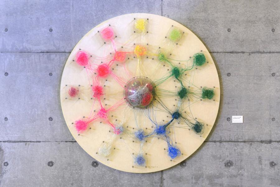 Tatsuo Kawaguchi, 'Inter-relation 5 : circle', 1967