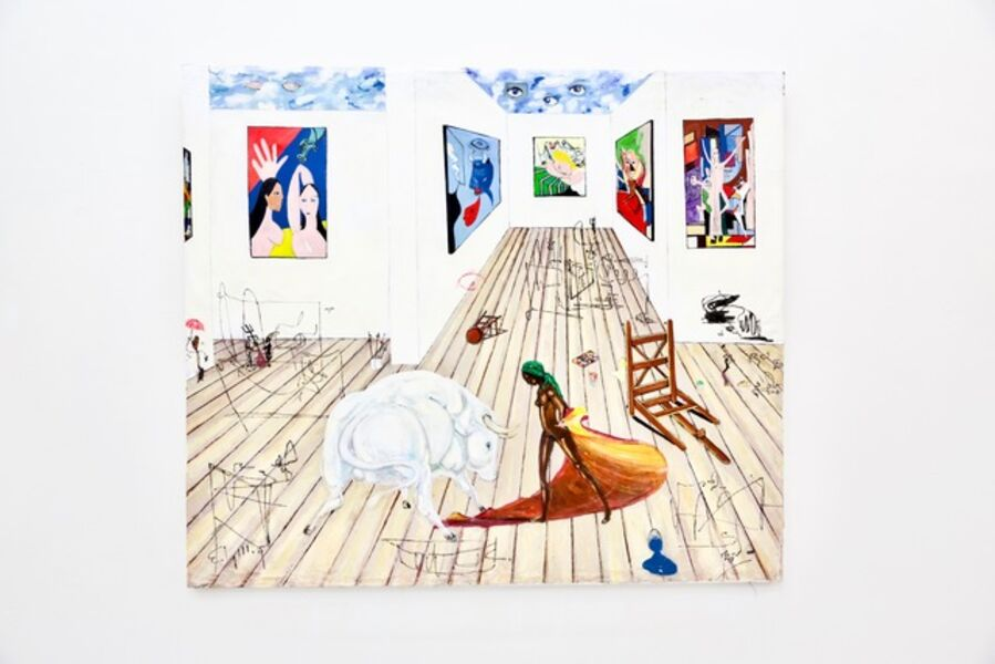 Ealy Mays, 'Cleaning Up Picasso's Stuio', 2015