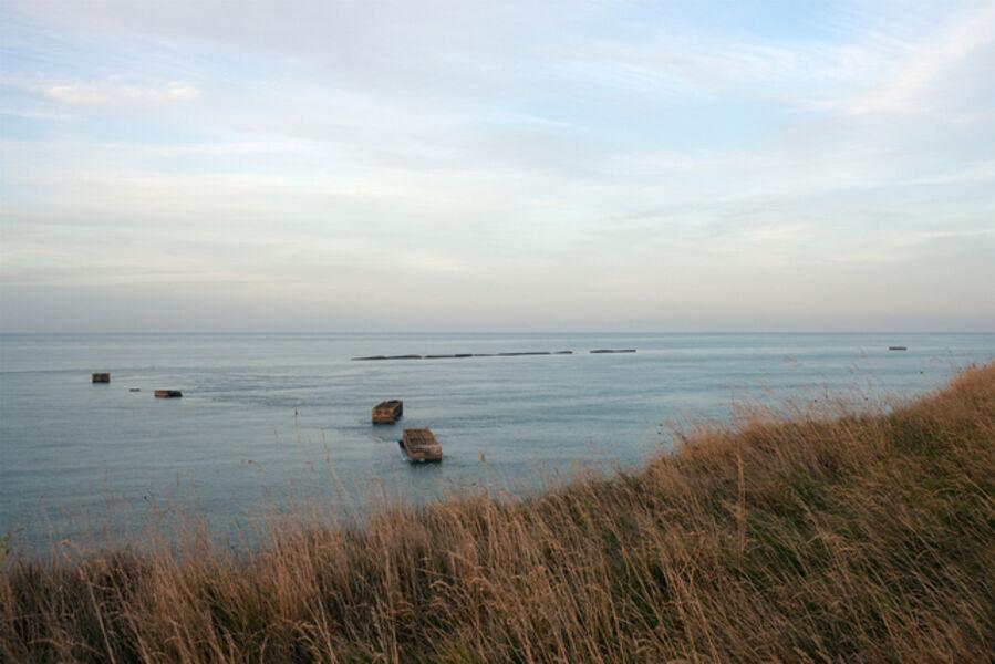 Donald Weber, 'Gold Beach, Sector Item, Green. October 2, 2013, 7:35pm. 16 Celsius, 87% RELH, Wind SE, 7 Knots. VIS: Good, Clear', 2013