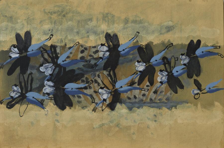 Li Shan 李山 (b. 1942), 'Reading No.3', 2015