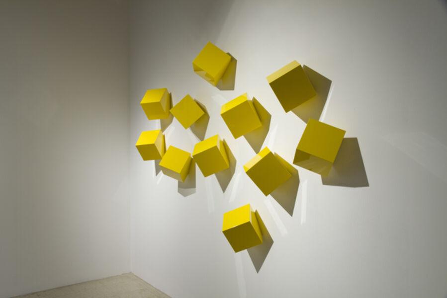 Lori Cozen-Geller, 'Chatterboxes, Sol (yellow)', 2020