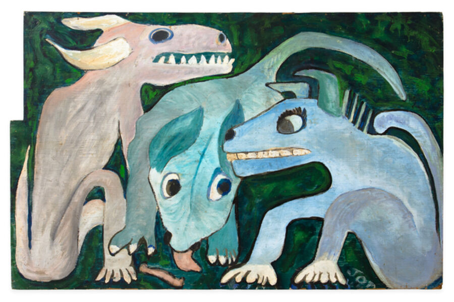 Jon Serl, 'Dingos', ca. 1960