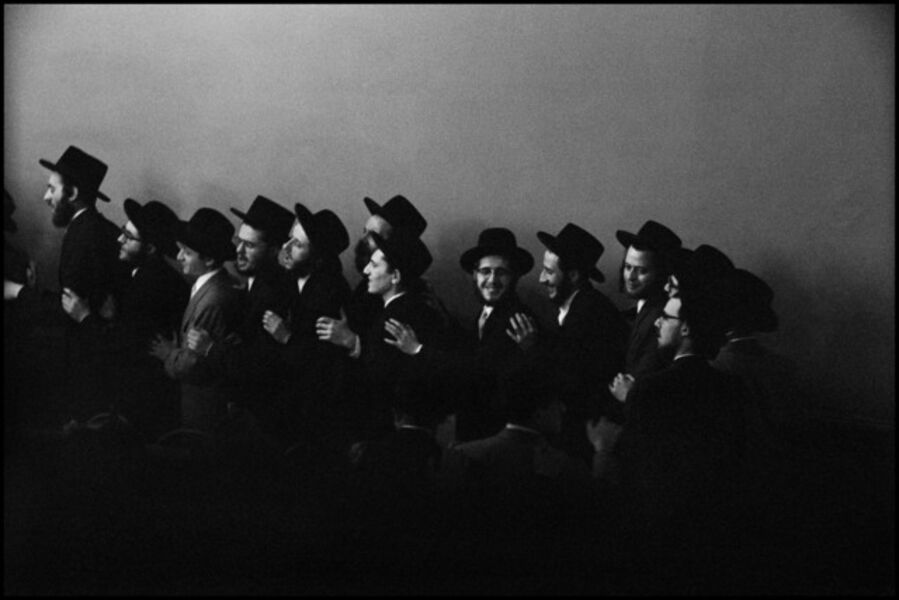 Leonard Freed, 'Jewish Hassidic wedding. New York City, USA.', 1954