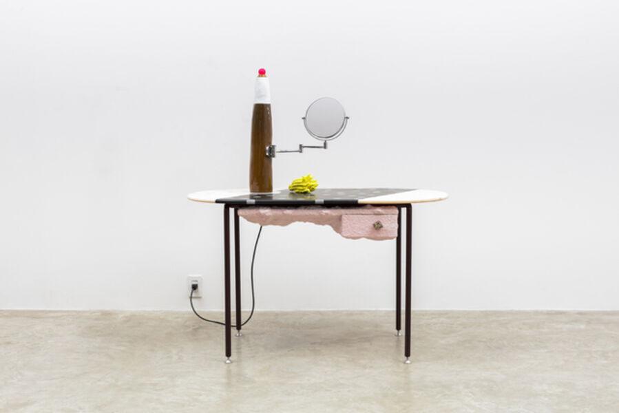 Jonathan Trayte, 'Pink Mondi with Bomba Lamp', 2018