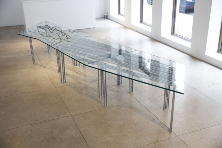 Daniel Libeskind, 'Dining Table 'Seraph in Motion'', 2018