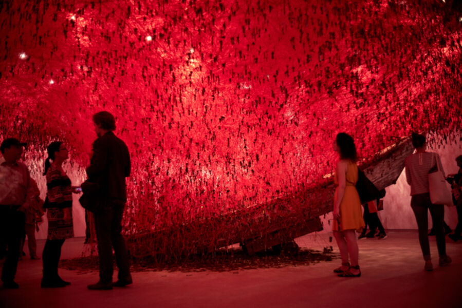 Chiharu Shiota, 'The Key in the Hand (Installation view)', 2015