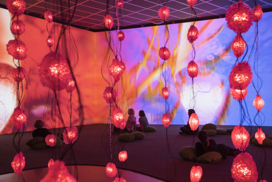 Pipilotti Rist, 'Pixelwald (Pixel Forest)', 2016