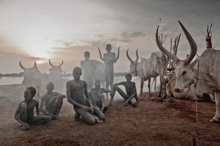 Jimmy Nelson, 'XXV 4 Mundari, Mayong, South Sudan, Africa', 2016