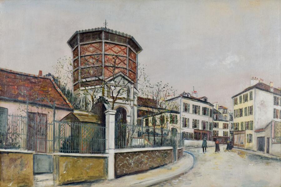 Maurice Utrillo, 'Place Jean-Baptise-Clément', ca. 1918