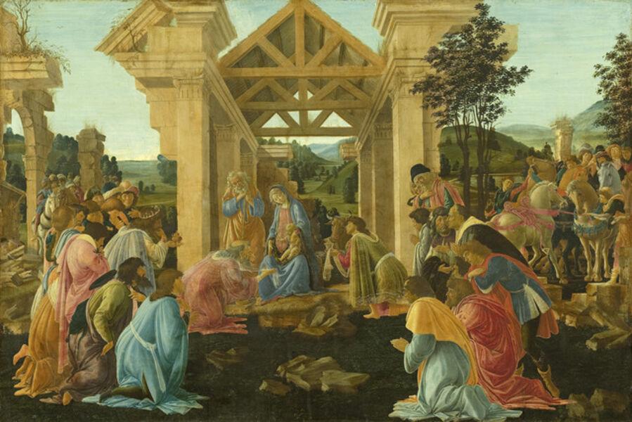 Sandro Botticelli, 'The Adoration of the Magi', ca. 1478-1482