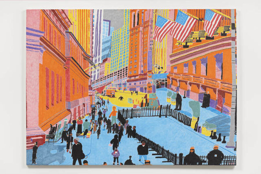 Christopher Knowles, 'New York Stock Exchange', 2017