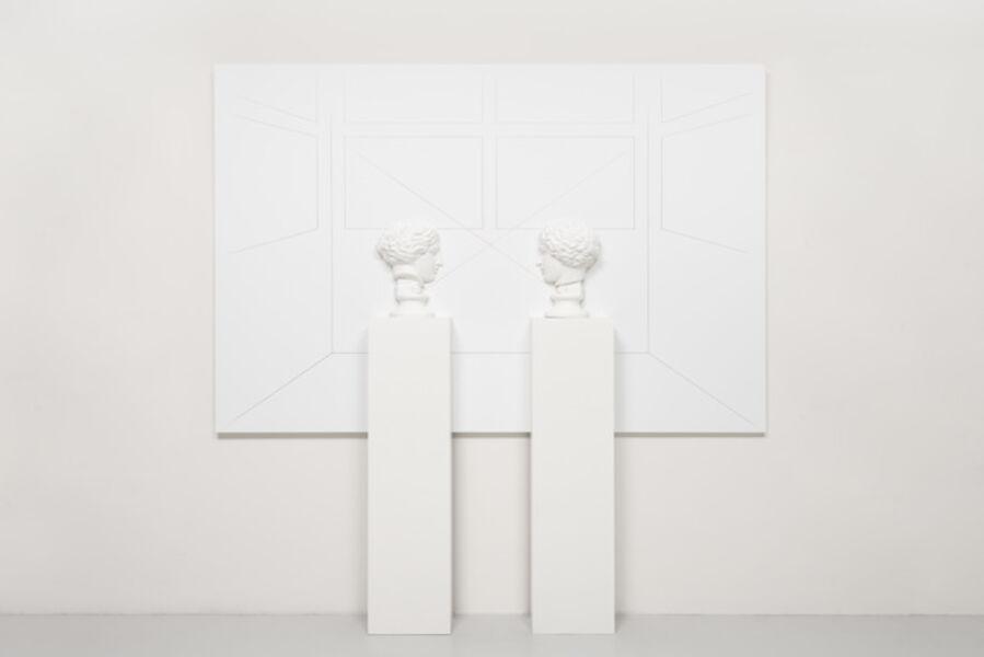 Giulio Paolini, 'Vis-à-vis (Amazzone) (I)', 2019