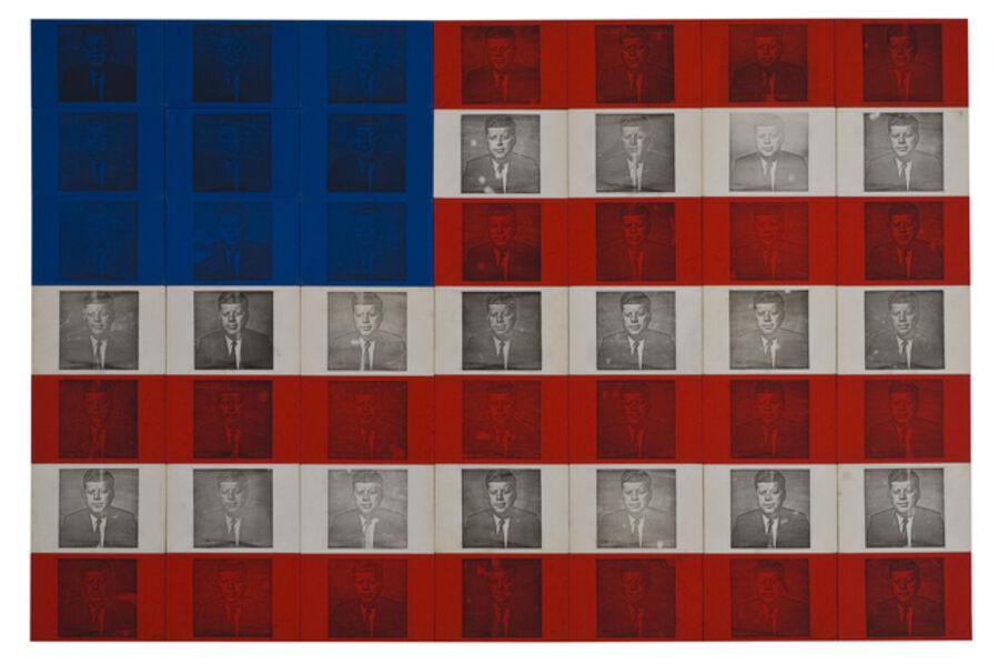 Billy Apple, 'The Presidential Suite: J.F.K', 1964