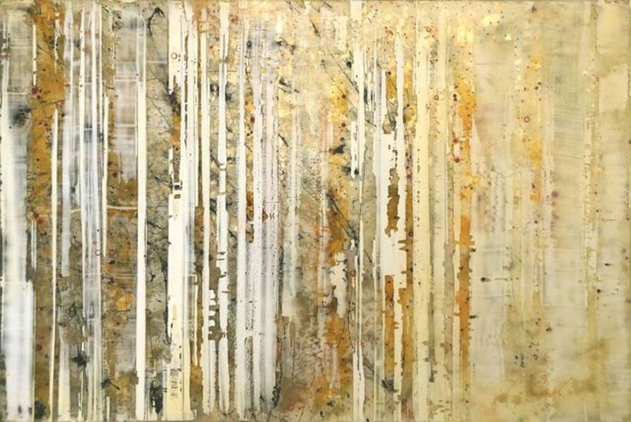 Greg Ragland, 'Parallel Layers 20, Gold', 2019
