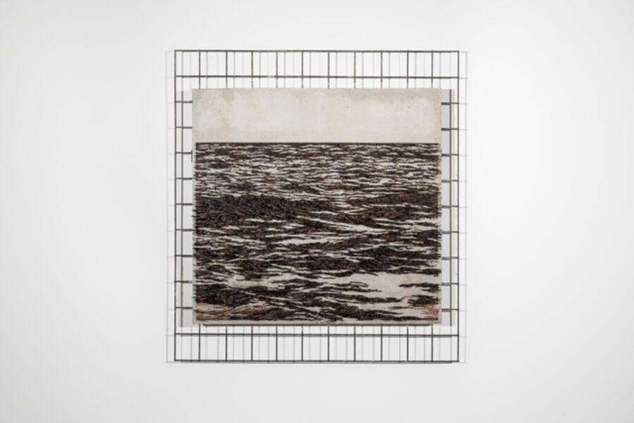 Yoan Capote, 'Muro de mar (aprehensión II)', 2019