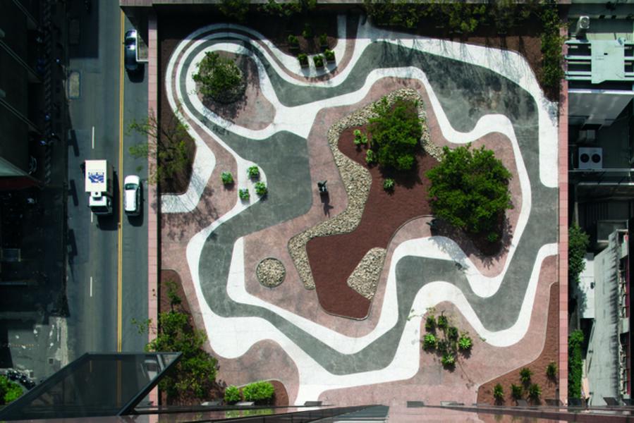 Roberto Burle Marx, 'Mineral Roof Garden', 1983