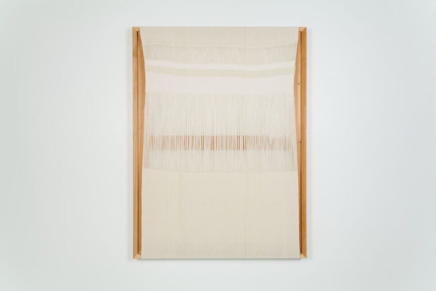 Frances Trombly, 'Untitled (exposed warp)', 2015