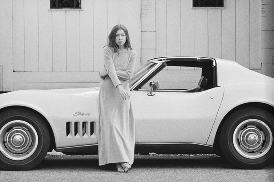 Julian Wasser, 'Joan Didion, Hollywood, 1968 (33a.)', 1968