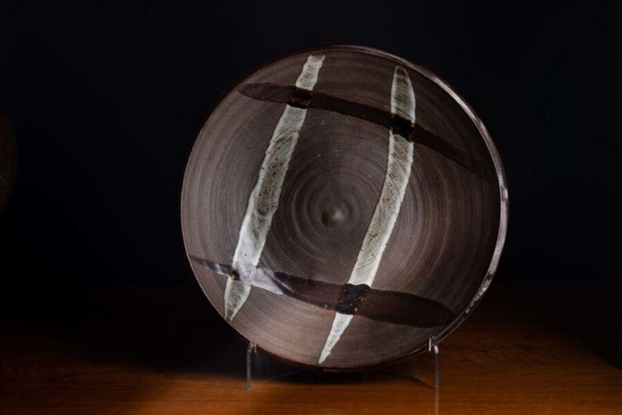Shōji Hamada, 'A Large Stoneware Charger by Shōji Hamada', ca. 1960