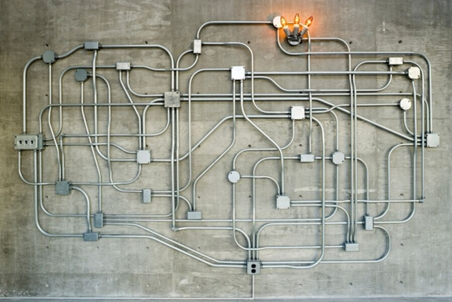 Roman de Salvo, 'Power Maze with Sconce', 1998