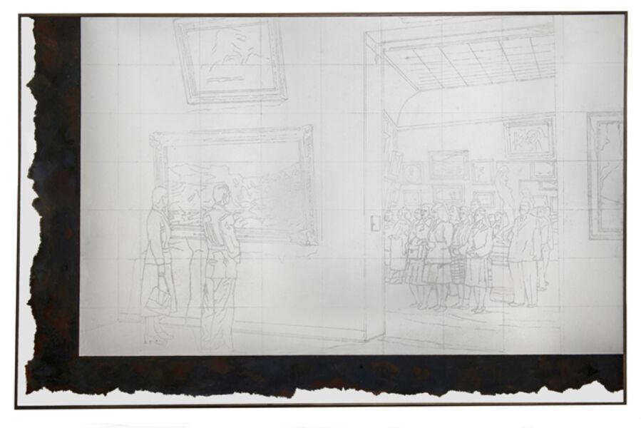 Ilya Kabakov, 'In the Tretyakov Gallery, 1972', 2002