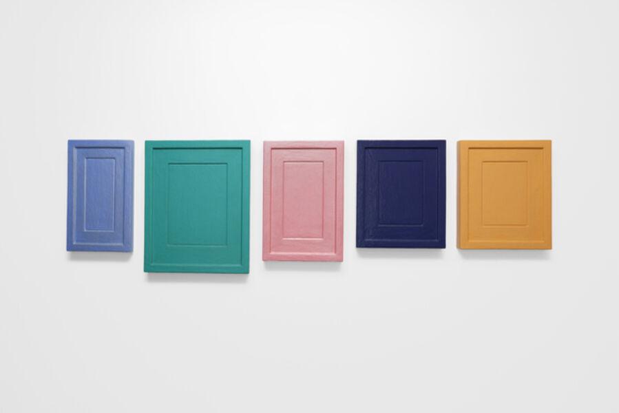 Allan McCollum, 'Collection of five plaster surrogates', 1986