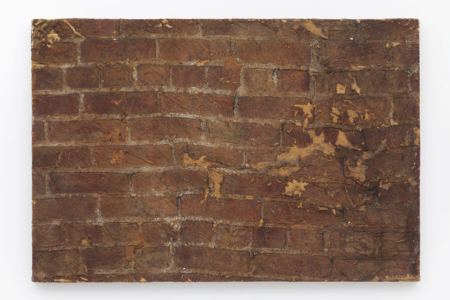 Robert Overby, 'Brick painting large', 1972