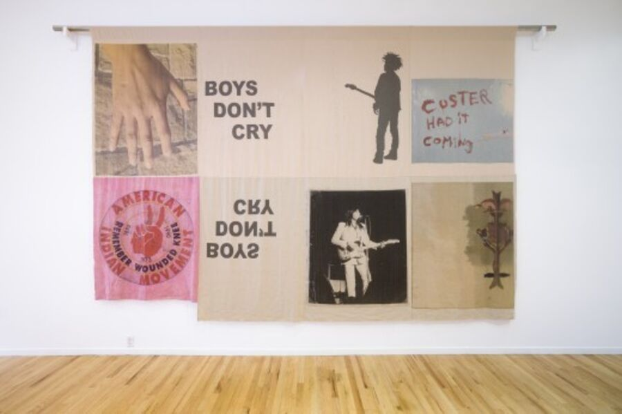 Duane Linklater, 'boys don't cry', 2017