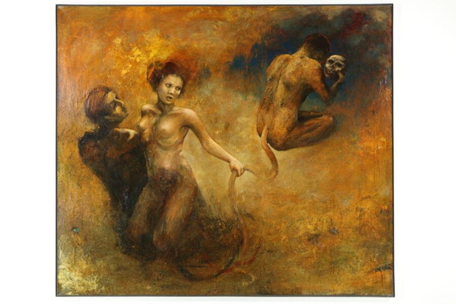 Kathleen Morris, 'Pensiero', 1990-2000
