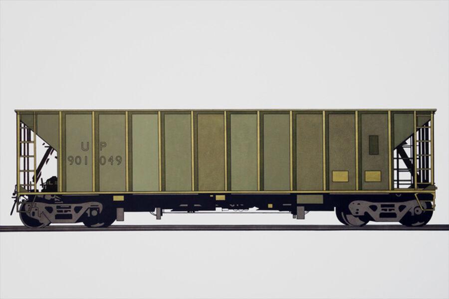 William Steiger, 'Hopper Car 901049', 2018