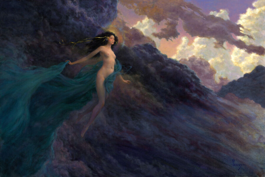 Richard Hescox, 'The Tempest', 2002