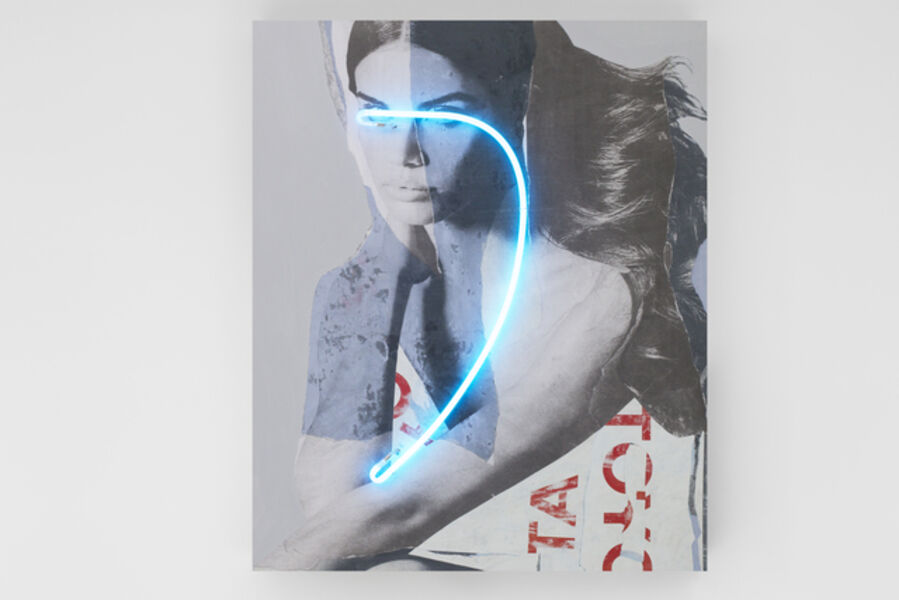 Javier Martin, 'Blindness Light Copyright Waste', 2017