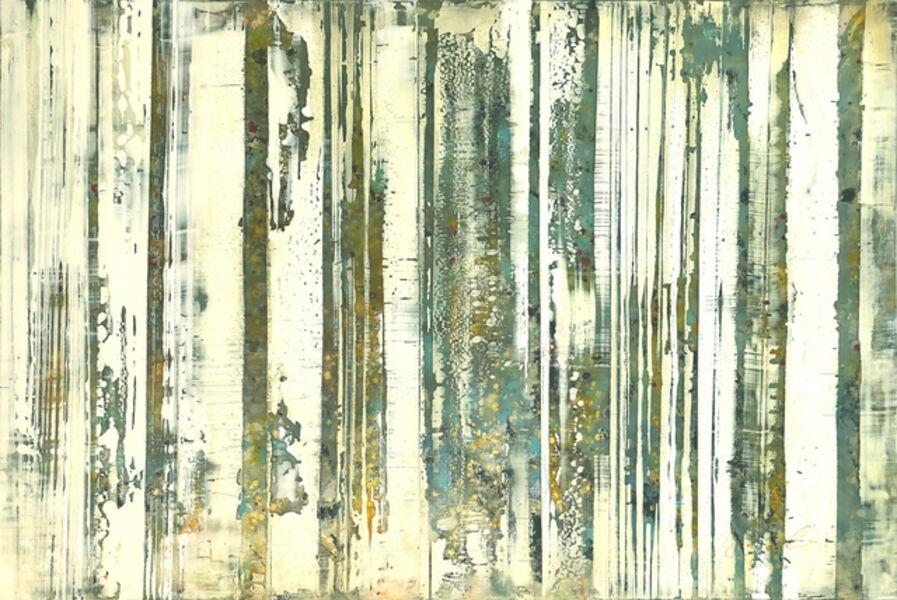 Greg Ragland, 'Parallel Layers 21, Green Blue', 2019