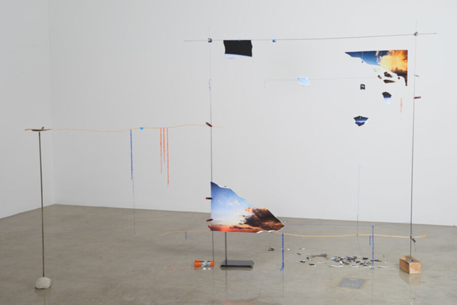 Sarah Sze, 'Lost Image Standing (Fragment Series)', 2015